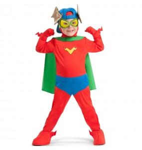 Déguisement Kid Fury des SuperZings pour enfants
