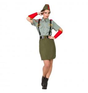 Déguisement Militaire Légion pour femme
