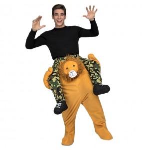 Déguisement Porte moi Lion adulte