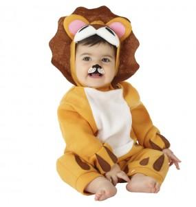 Déguisement Lion féroce bébé