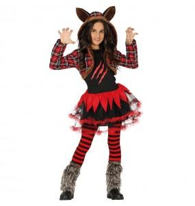 Déguisement Louve Halloween fille