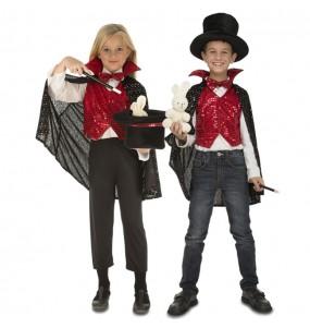 Déguisement Magicien avec accessoires pour enfants