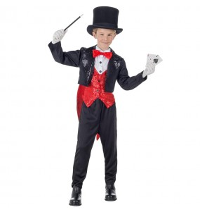 Déguisement Magicien Illusionniste pour garçon