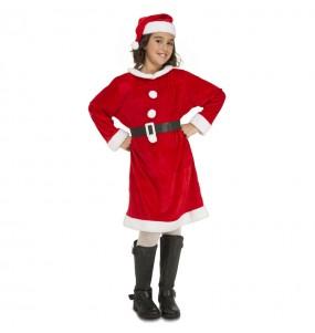 Déguisement Mère Noël fille pas cher