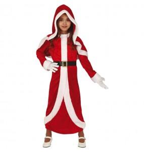 Déguisement Mère Noël Santa Claus fille