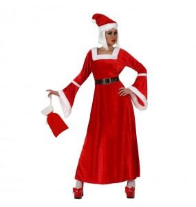 Déguisement Mère Noël Rouge femme