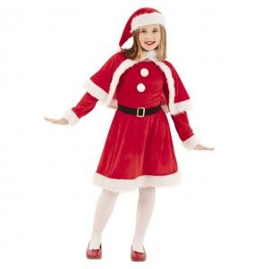 Déguisement Maman Noël rouge fille