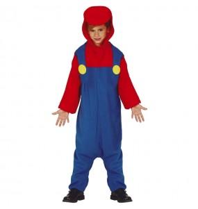 Déguisement Mario Bros Kigurumi garçon