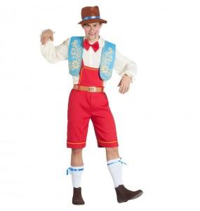 Déguisement Pinocchio marionnette homme