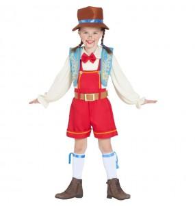 Déguisement Pinocchio marionnette fille