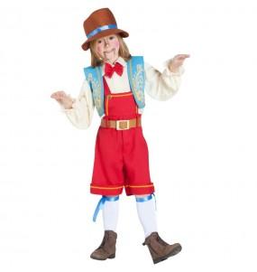 Déguisement Pinocchio marionnette garçon
