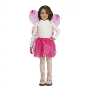 Déguisement Papillon Rose pour fille