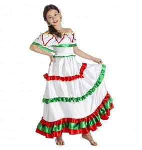 Déguisement Mexicaine Tijuana fille