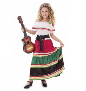 Déguisement Mexicaine traditionnelle fille