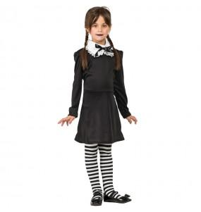 Déguisement Mercredi Addams fille