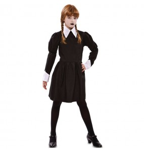 Déguisement Mercredi Addams sinistre fille