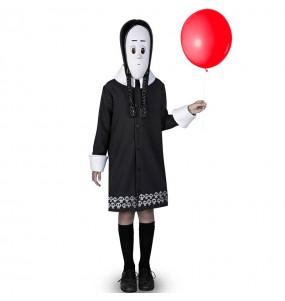 Déguisement Mercredi La Famille Addams fille