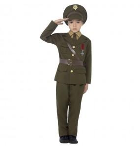 Déguisement Militaire Officier garçon