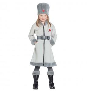 Déguisement Russe Soviétique Militaire fille