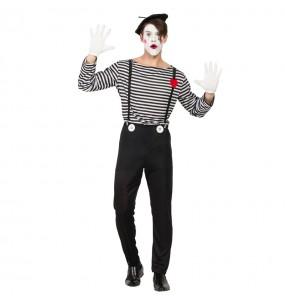 Déguisement Mime Clown pour homme
