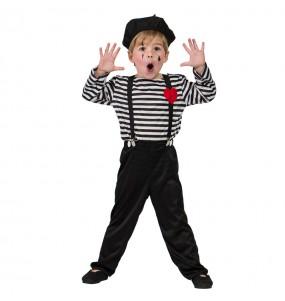 Déguisement Mime Clown pour garçon