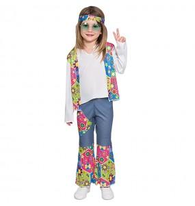 Déguisement Mini Hippie Fille