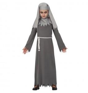 Déguisement Nonne maléfique fille