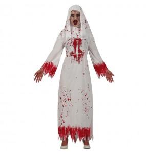 Déguisement Nonne satanique femme
