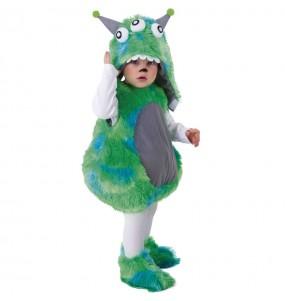 Déguisement Monstre vert bébé