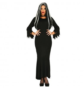 Déguisement Morticia Addams femme