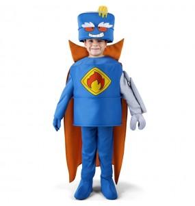 Déguisement Mr. King des SuperZings pour enfants