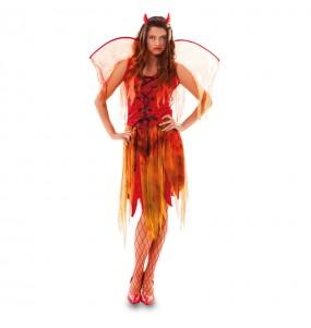 Déguisement Démon Femme avec ailes