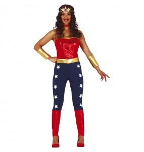 Déguisement Super-héroïne Wonder Woman femme