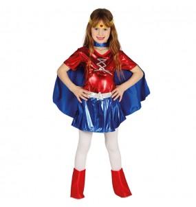 Déguisement Wonder Woman pour fille