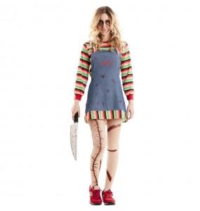 Déguisement Poupée Tueuse Chucky femme