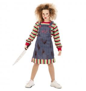 Déguisement Poupée Tueuse Chucky fille
