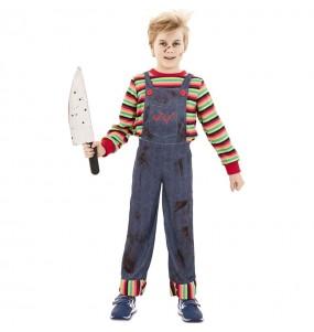 Déguisement Poupée Tueur Chucky pour garçon