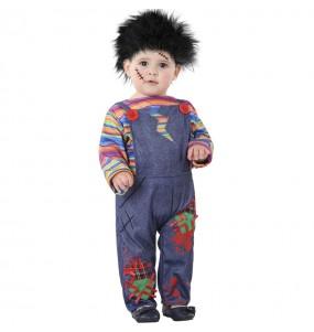 Déguisement Poupée ensanglantée Chucky bébé