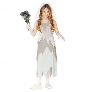 Déguisement Mariée Fantôme fille