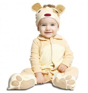Déguisement Oursin bébé avec doudou