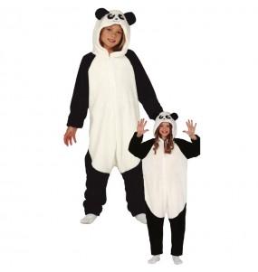 Déguisement Ours Panda Kigurumi enfant