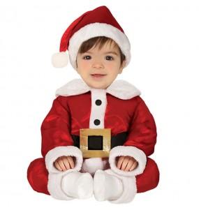 Déguisement Père Noël amusant bébé