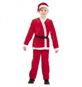 Déguisement Père Noël rouge garçon