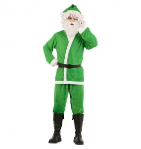 Déguisement Père Noël Vert adulte