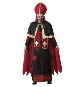 Déguisement Pape sanglant homme