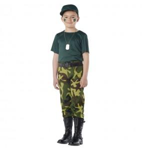 Déguisement Paramilitaire garçon