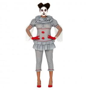 Déguisement Clown tueuse IT femme