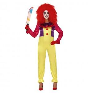 Déguisement Clown Tueur Pennywise femme