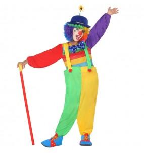 Déguisement Clown cirque fille