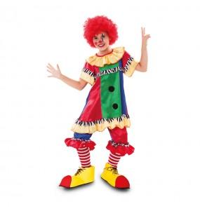 Déguisement Petite Clown du cirque